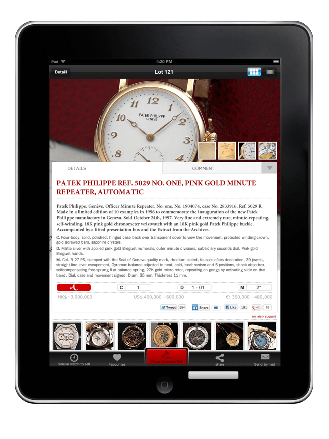 Antiquorum-ui-app 3